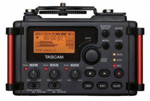 Le Tascam DR-D60mkII, un enregistreur 4 mises pour les amateurs de vidéos