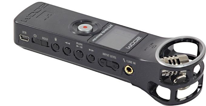 Le Zoom H1 est à la fois un dictaphone et un enregistreur très performance