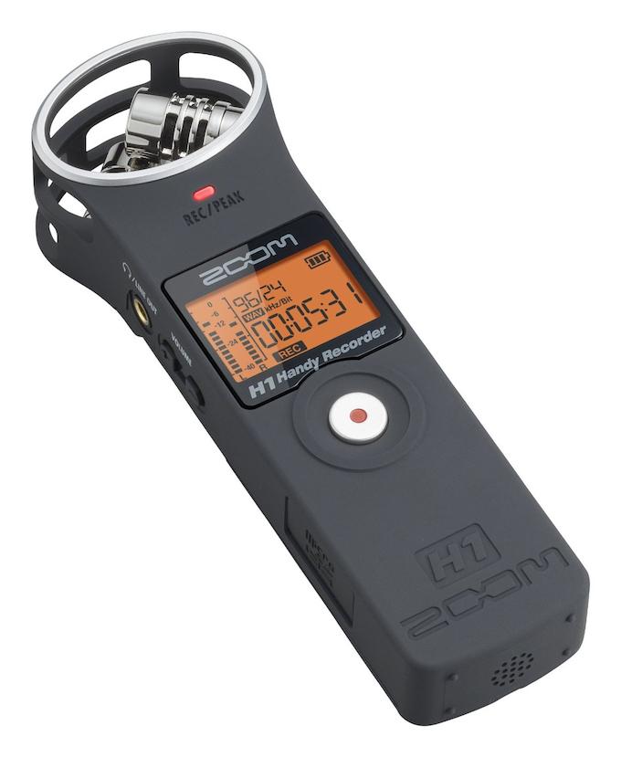 Le H1MB de chez Zoom, un dictaphone numérique prisé par les journalistes