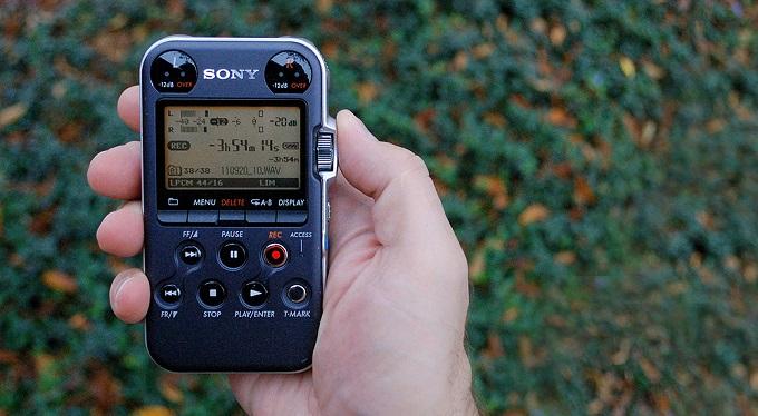 Le PCM-M10 de chez Sony, un enregistreur semi-pro