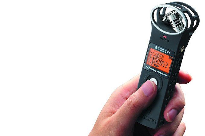 Le Zoom H1MB, un enregistreur professionnel
