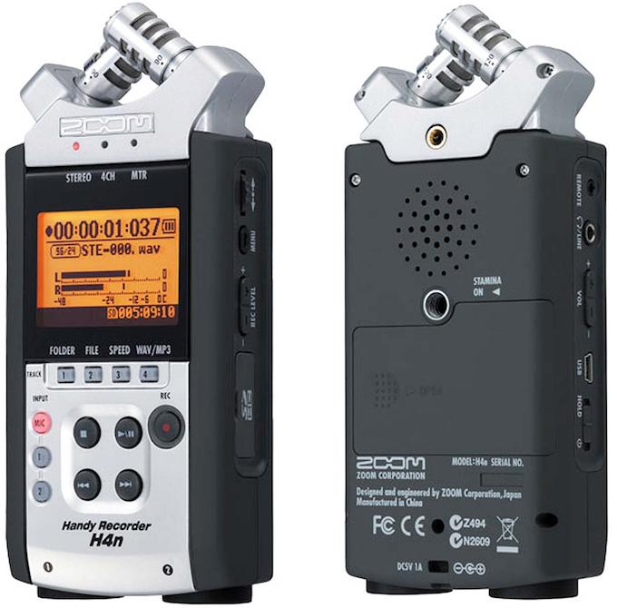 L'enregistreur numérique Zoom H4nSP