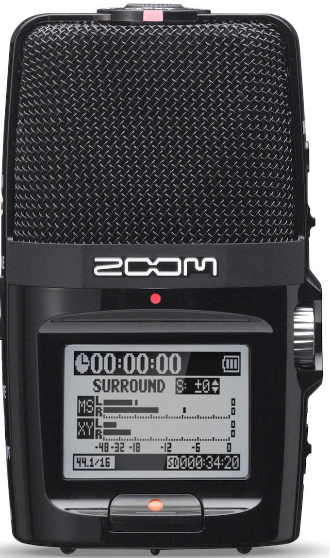 L'enregistreur de home-studio Zoom H2M
