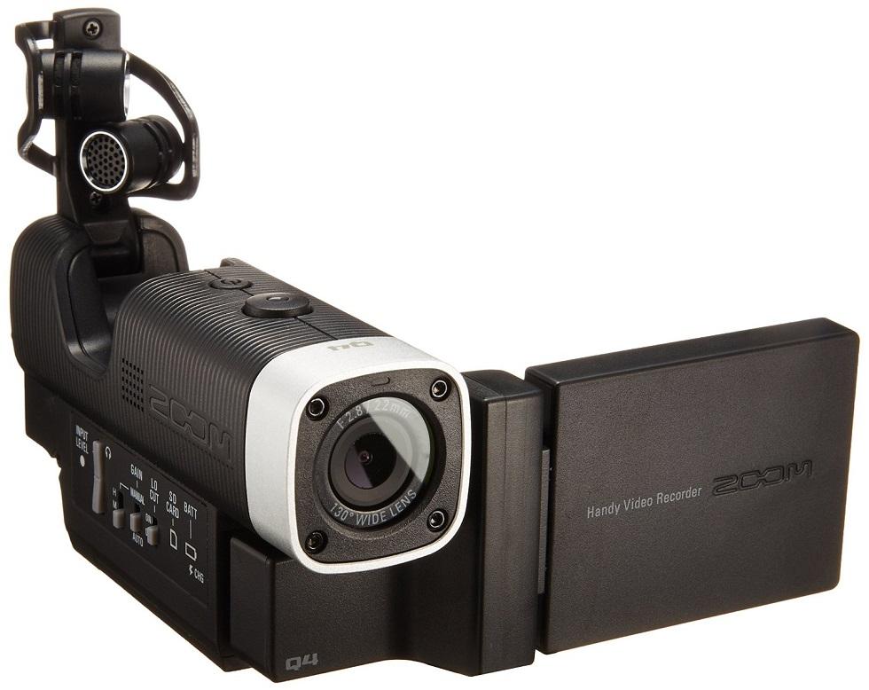 Le Zoom Q4 un très bon enregistreur pour les amateurs de musique live