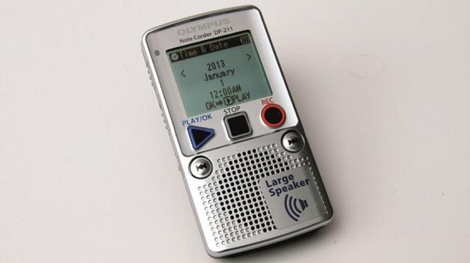 Olympus DP-211, un dictaphone numérique de très bonne qualité