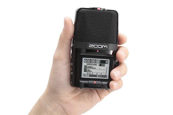 Le Zoom H2M, un enregistreur compact et polyvalent