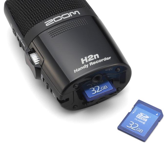 Le H2M de chez Zoom est un enregistreur de qualité professionnelle