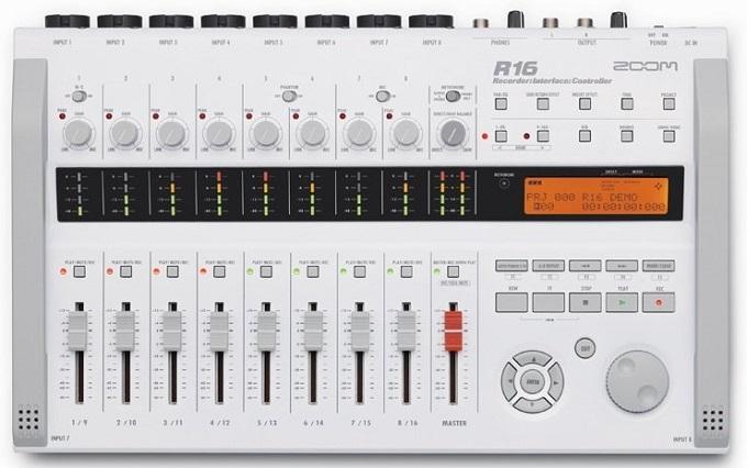 Avec le Zoom R16, accédez à la qualité studio