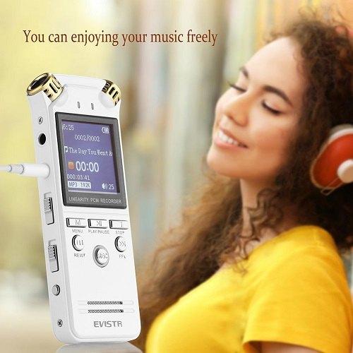 enregistreur voix numerique evistr vocale