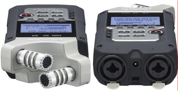 Micro et sortie audio Zoom H4NPRO